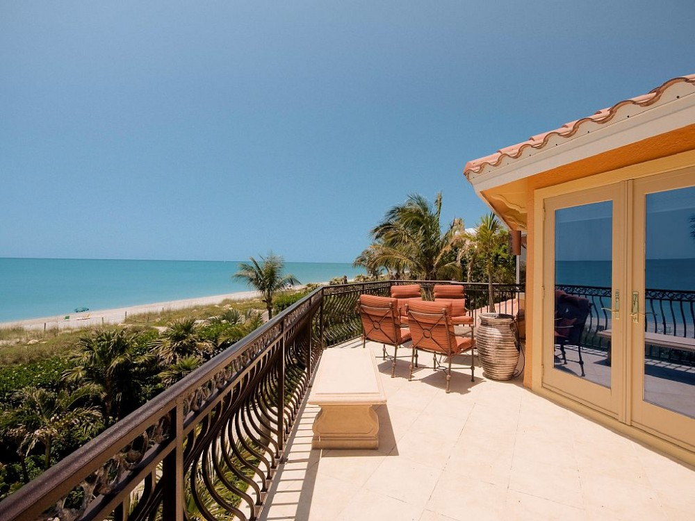 captiva vacation rental with Dream View from Master Bedroom Deck