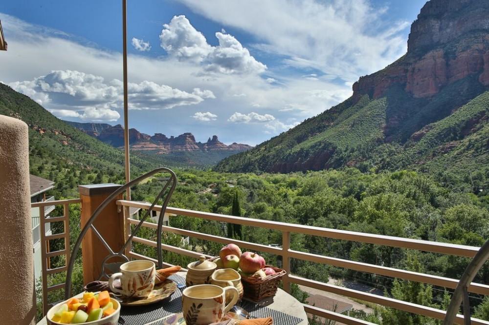 sedona vacation rental with 180 Degree Views