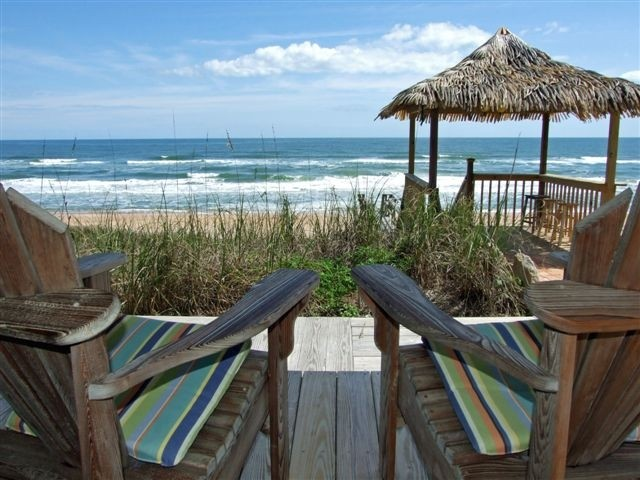 Oceanfront 4BR/3.5 BTH Home on Private Beach