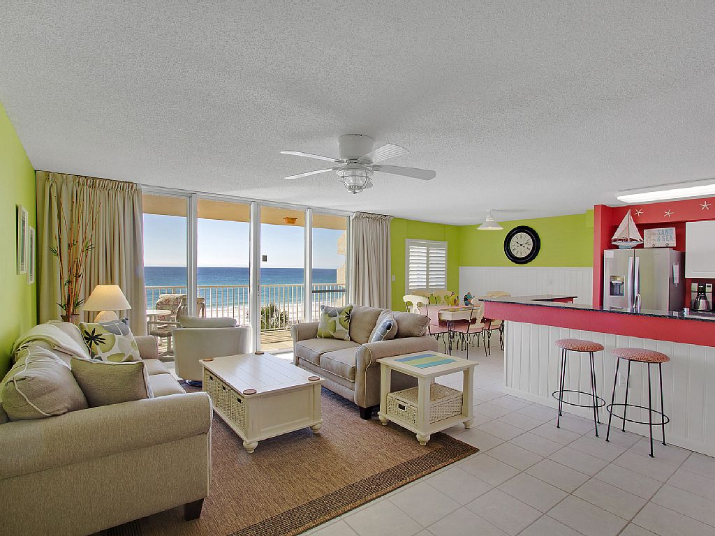2 King Beds, Beachfront, Direct Gulf View, Free Beach Service!
