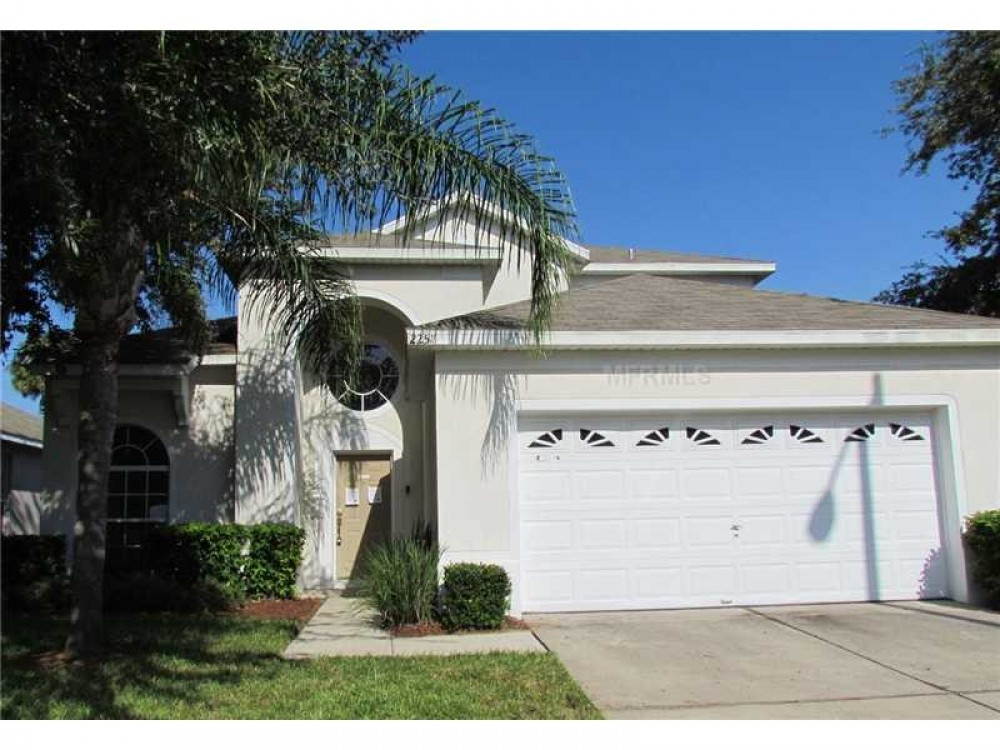 kissimmee vacation rental with Front Entrance