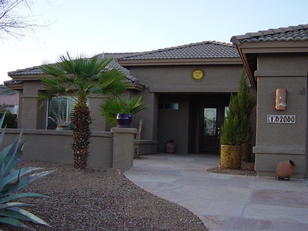 tucson vacation rental with Front Entrance