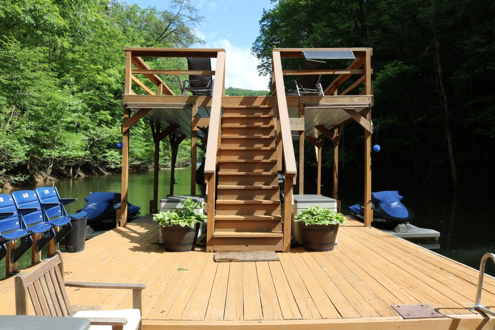 New Tazewell vacation rental with Heaven Sent covered boat slip