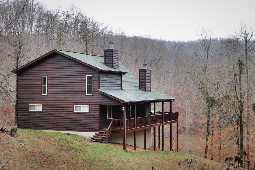 New Tazewell vacation rental with Quiet Waters