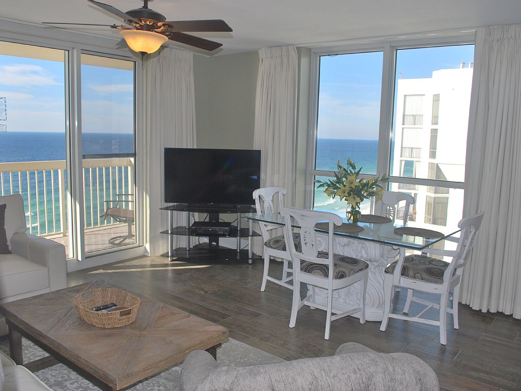 Complete Remodel! Corner 1 Bedroom Unit, Views of the Gulf from 2 Sides!