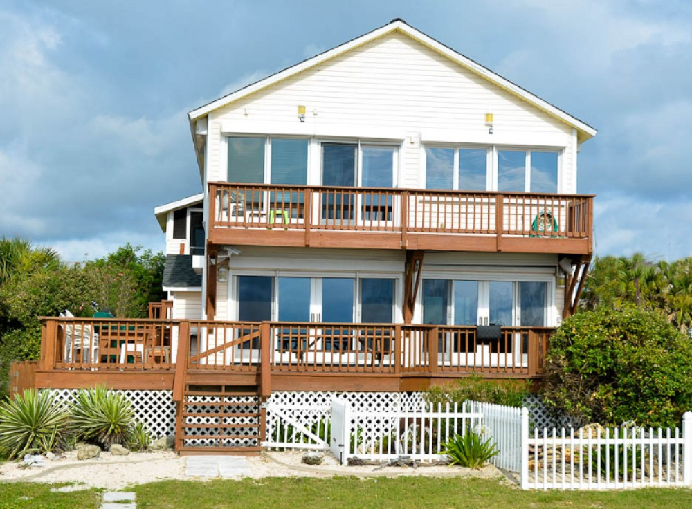 St. Augustine vacation rental with #1 12 STREET OCEANFRONT BEACH HOUSE
