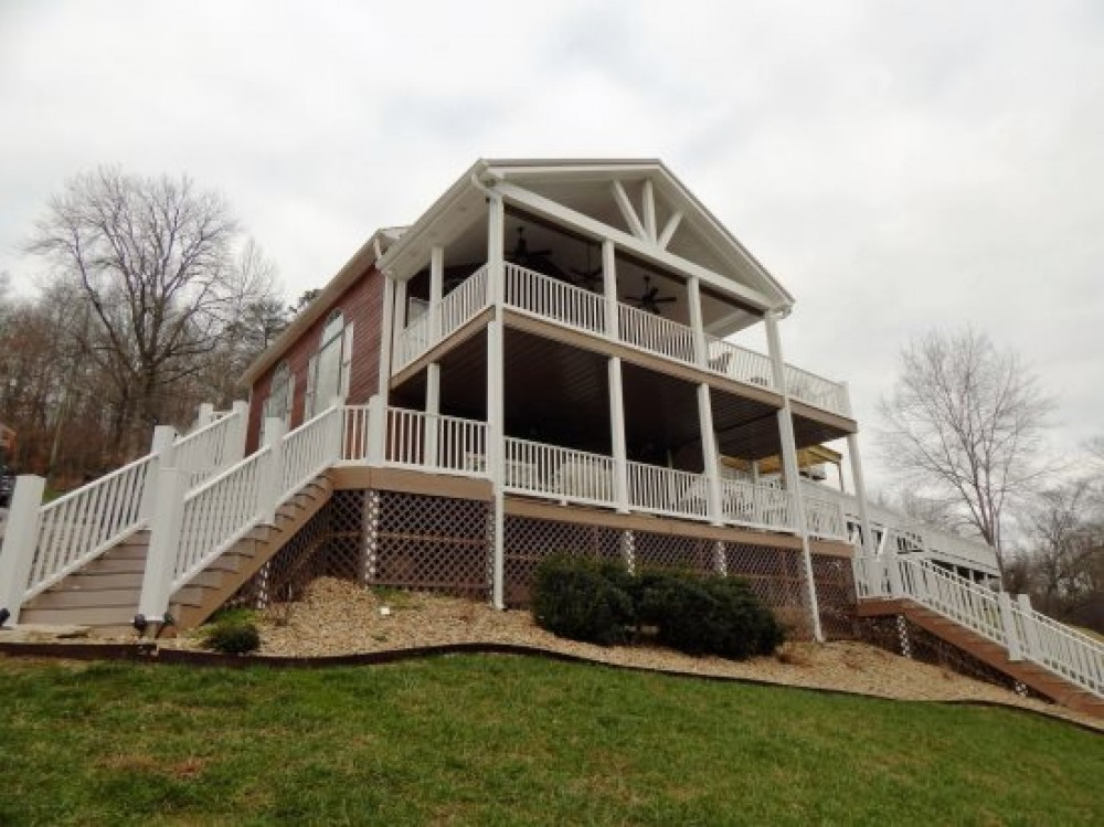 Maynardville vacation rental with Beautiful Lakefront Home on Norris Lake Near Beach Island Marina