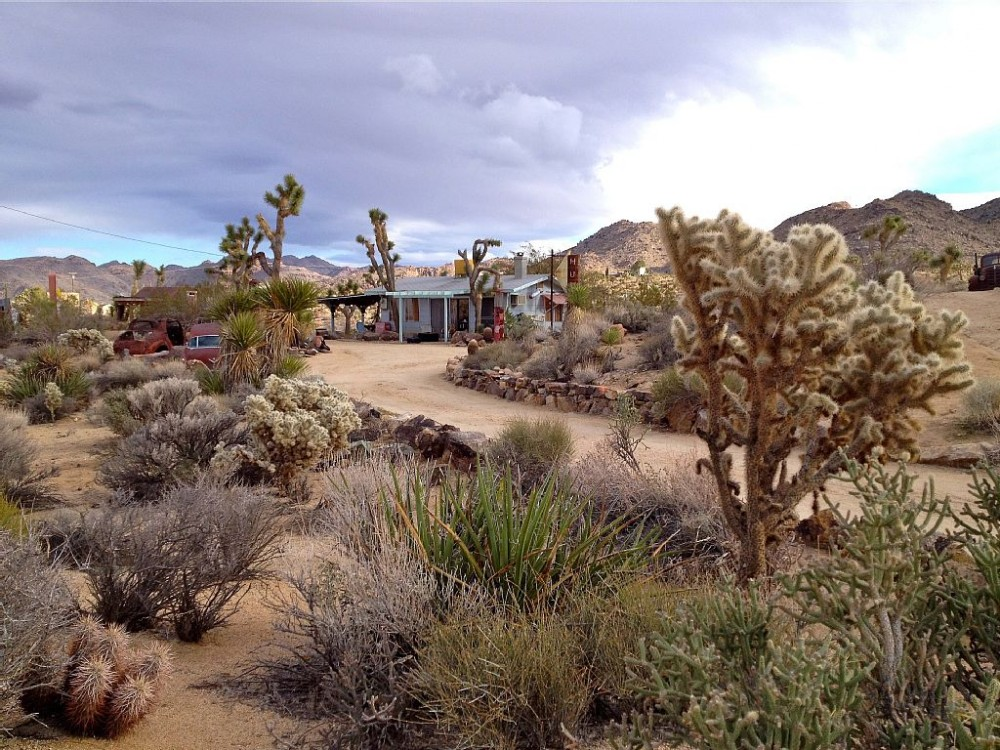 Joshua Tree vacation rental with Bungalow in the Boulders