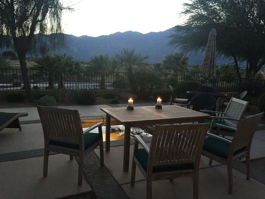 New Home In Desert Princess CC With Inground Spa And Spectacular Mountain Views