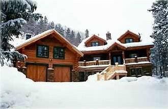 A True Rocky Mountain Log Cabin Getaway