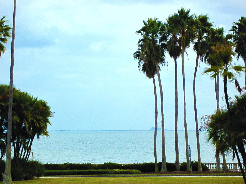 Tampa vacation rental with Ocean-Bay View from unit over Tampa Bay