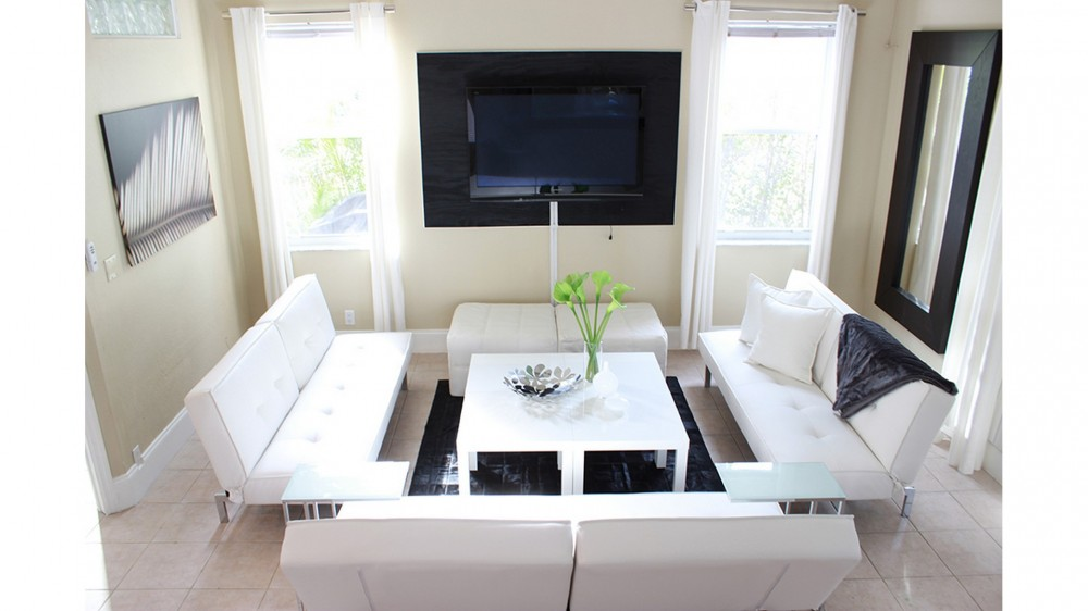 Palm Beach Gardens vacation rental with Contemporary Designed Living Room