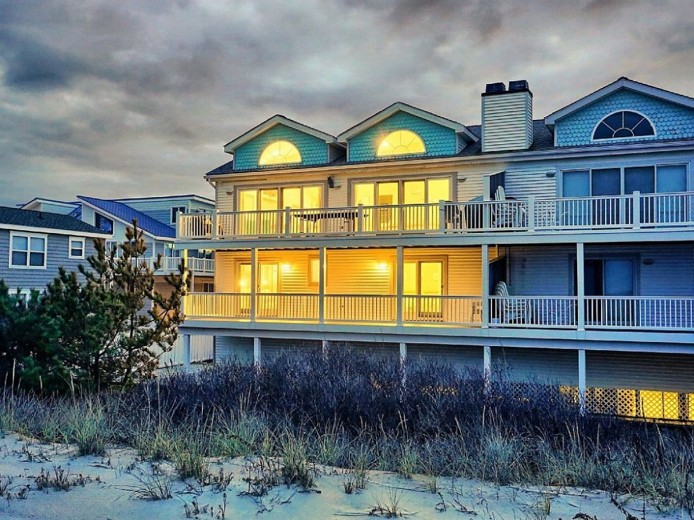 Sea Isle City vacation rental with The Beach is beautiful in the winter!