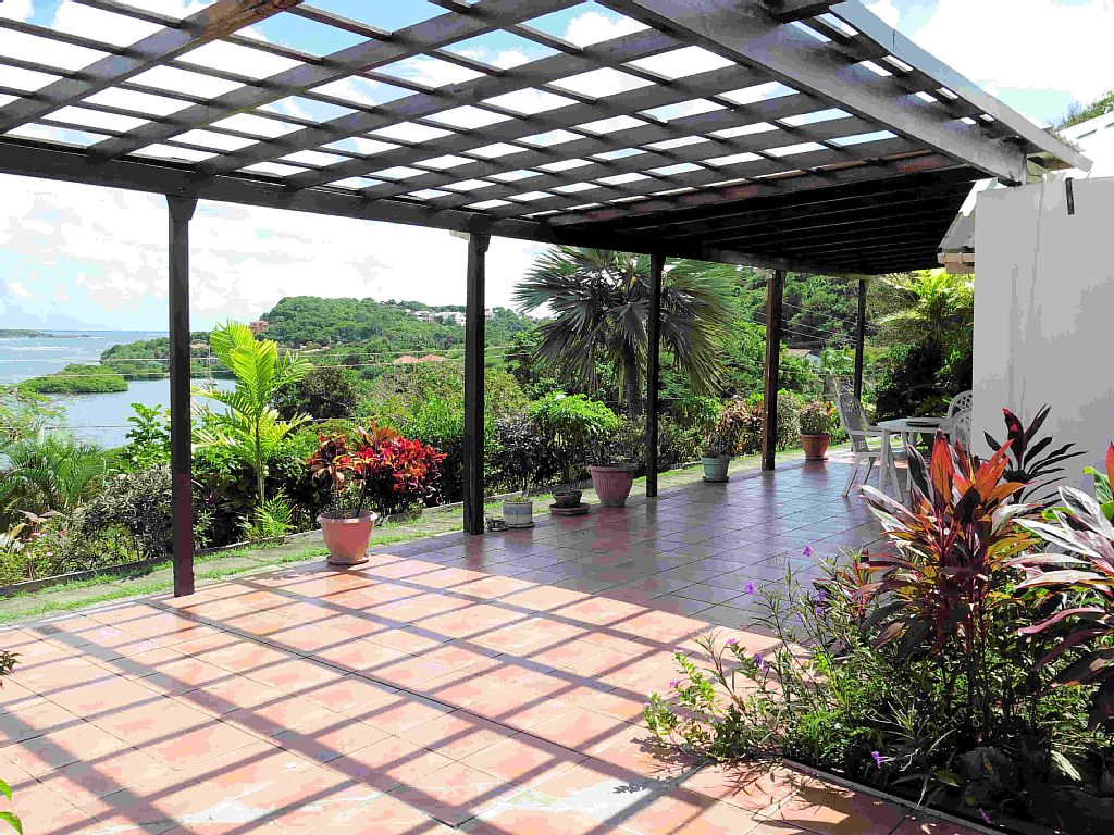 Architect designed house with quintessential Caribbean charm, with great views