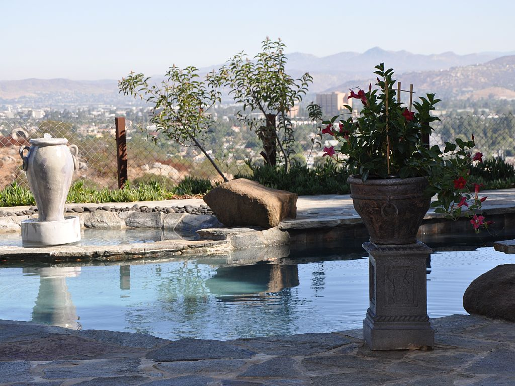 Amazing views, salt water pool on an acre of secluded property!