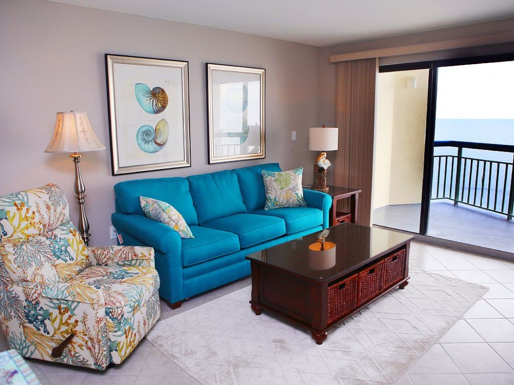 North Myrtle Beach vacation rental with Living Room