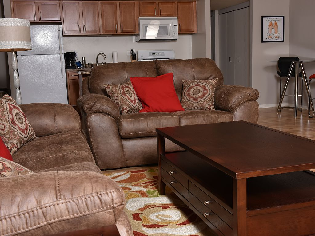 1 Bed Short Term Rental Apartment Chicago