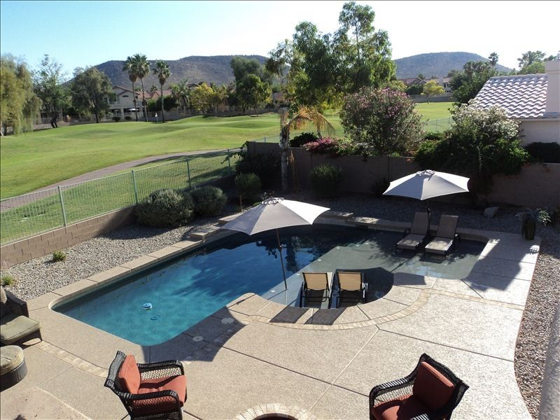 Executive Home Custom Pool Backing Golf Course Mountian View