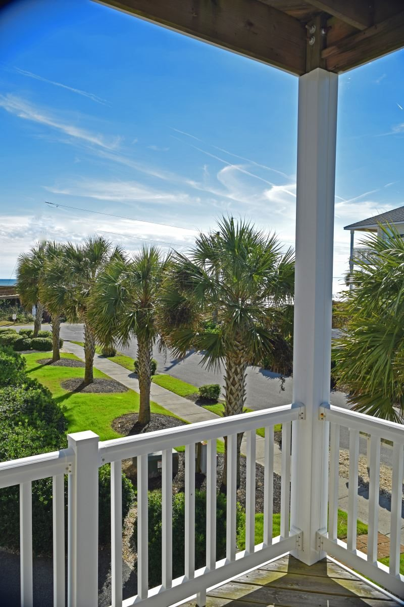 Oceanview 4 BR townhome just steps to the beach