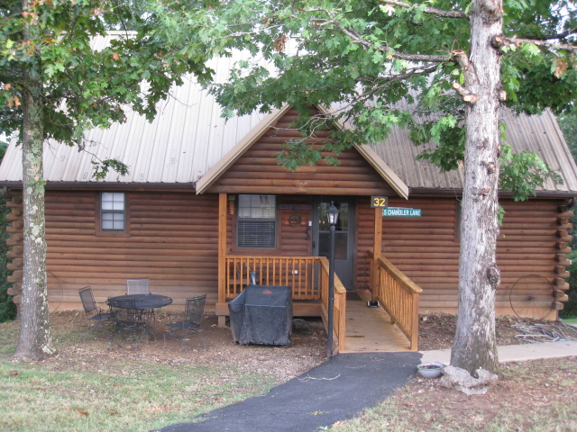 The Old West Log Cabin
