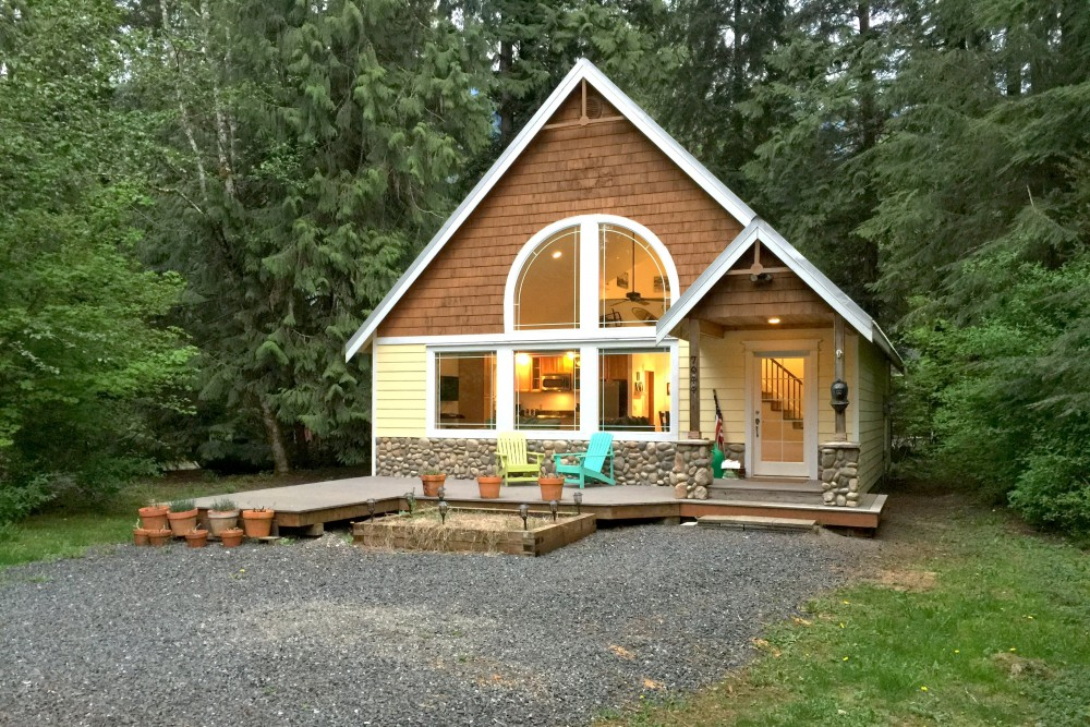 Glacier vacation rental with