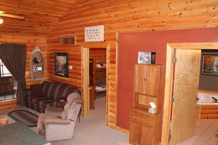 The Great Escape Log Cabin