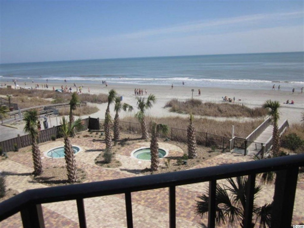 Myrtle Beach vacation rental with **Driftwood Private Balcony View**