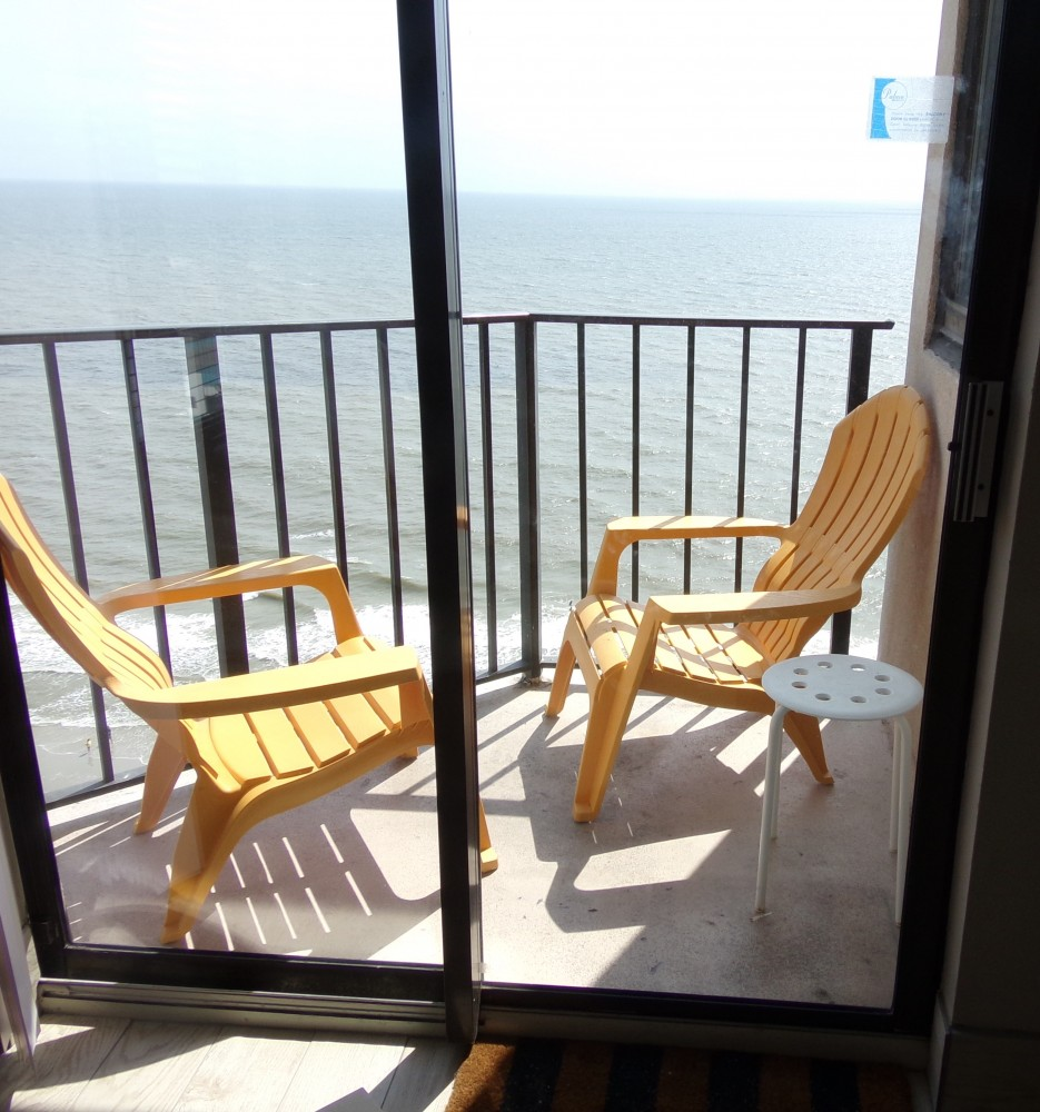 Myrtle Beach vacation rental with Sea Turtles Balcony