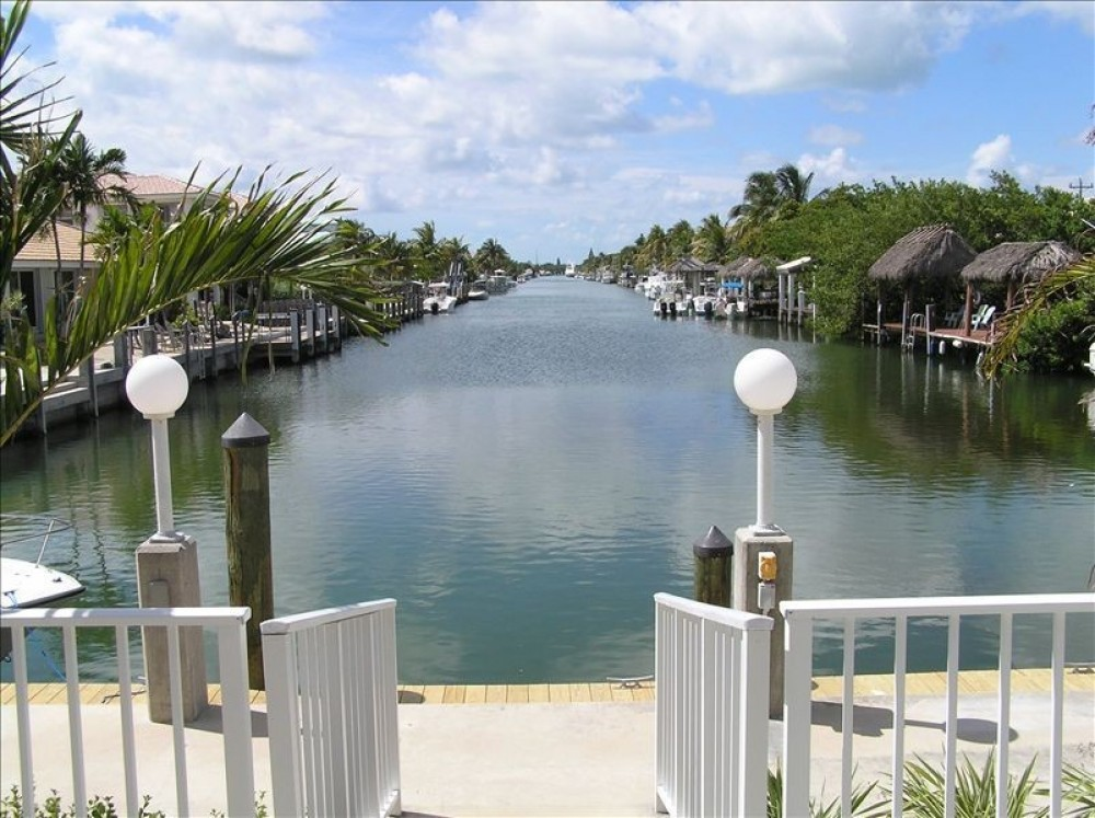 Key Colony Beach vacation rental with Down canal views