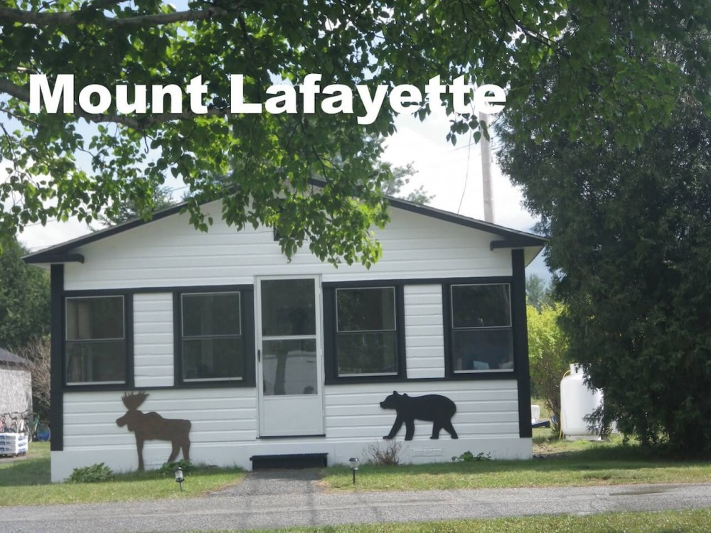Carroll vacation rental with front of the cottage