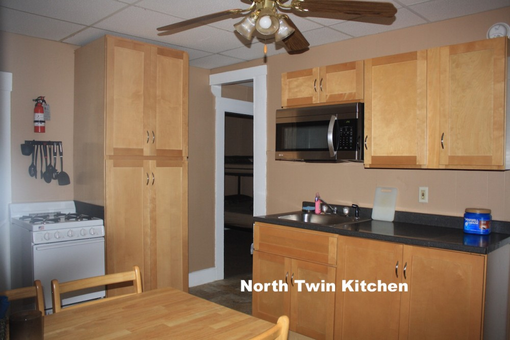 Carroll vacation rental with kitchen in the North Twin Cottage