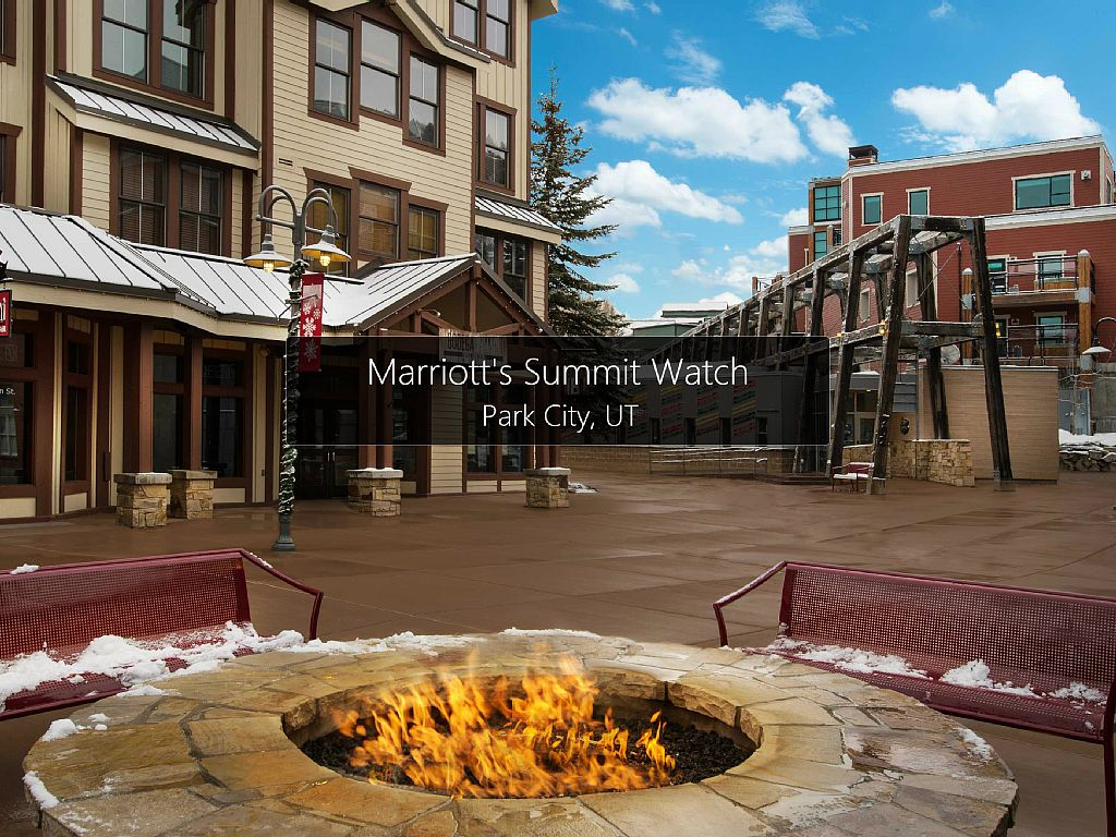 Marriotts Summit Watch 2 BR With Kitchen SKI Park