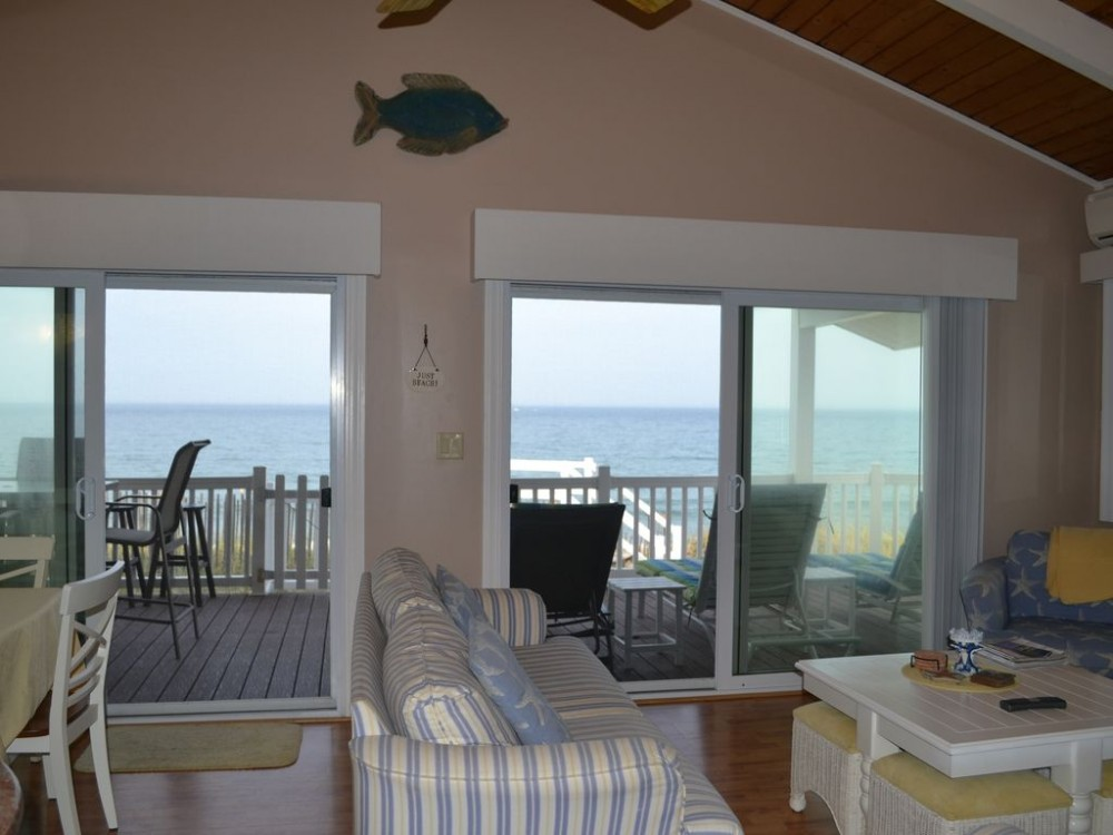 Salisbury vacation rental with View from living area