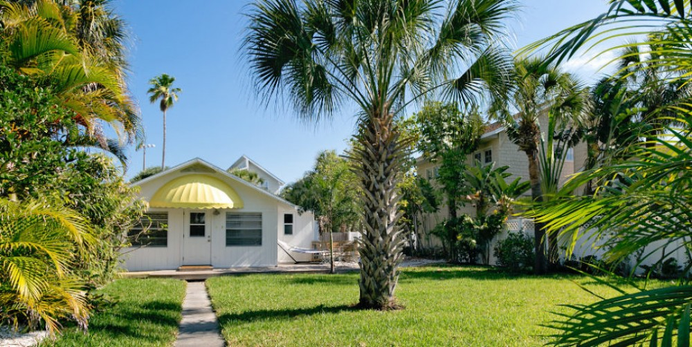 Saint Pete Beach vacation rental with Front Yard