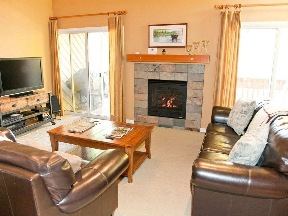 Sun Valley vacation rental with Living are with flat screen T.V.