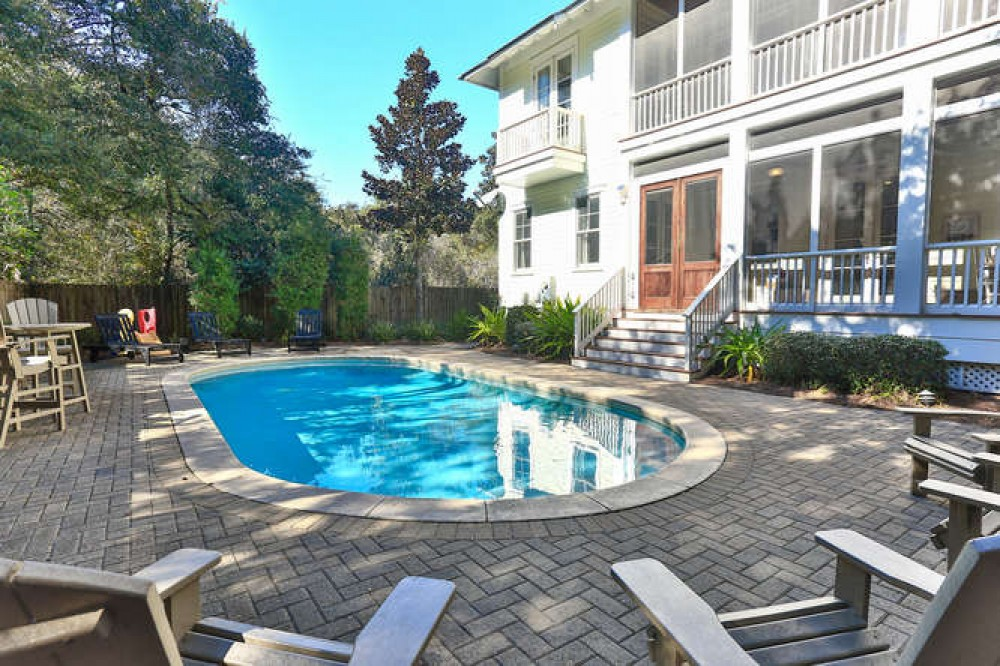 Seagrove Beach vacation rental with Large Private POOL
