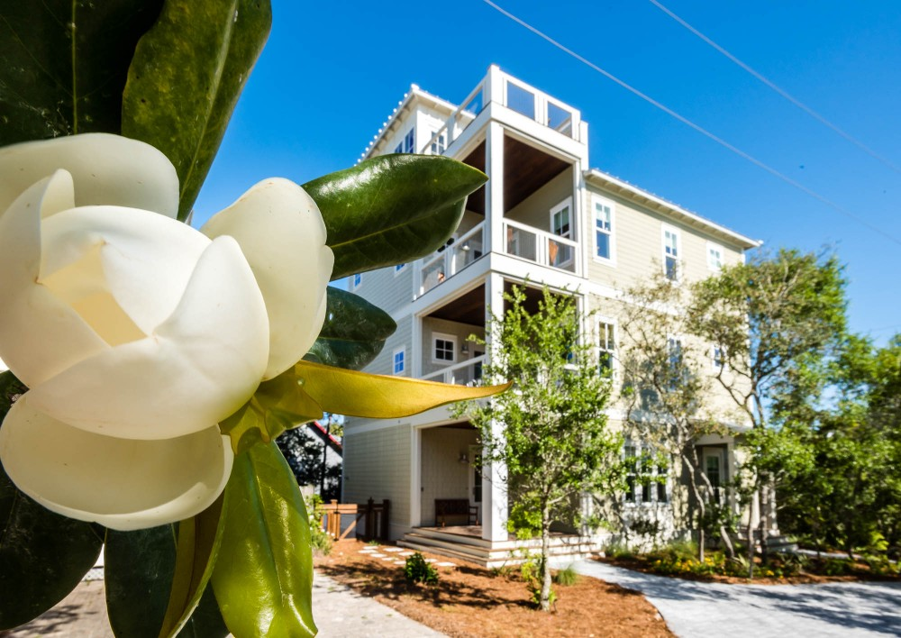 Santa Rosa Beach vacation rental with Seaside Magnolia in Old Seagrove Beach next to Seaside