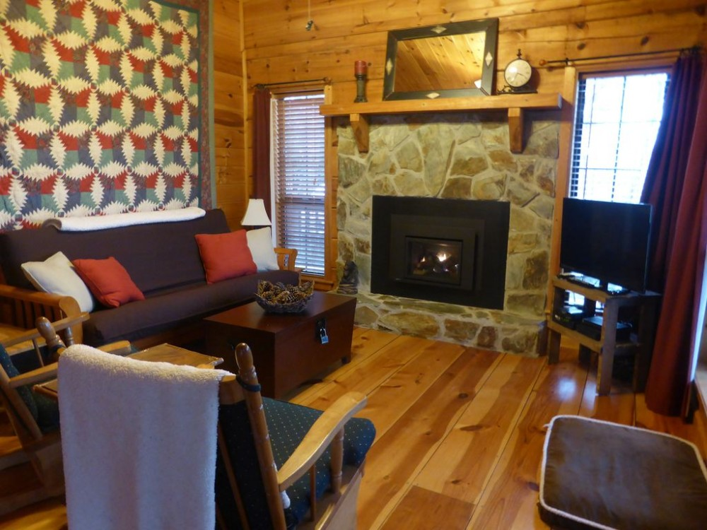 Cherry Log vacation rental with
