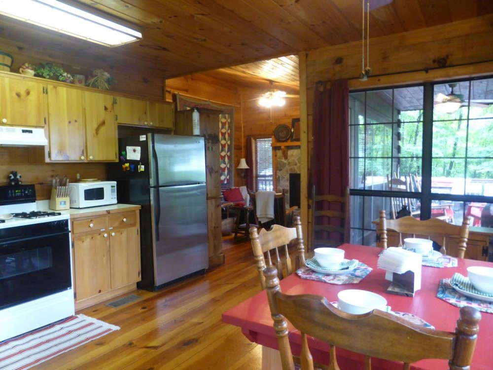 Cherry Log vacation Cabin rental