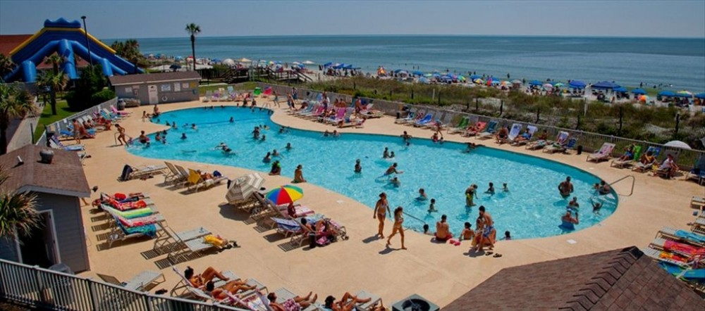 Myrtle Beach vacation rental with Ocean front pool