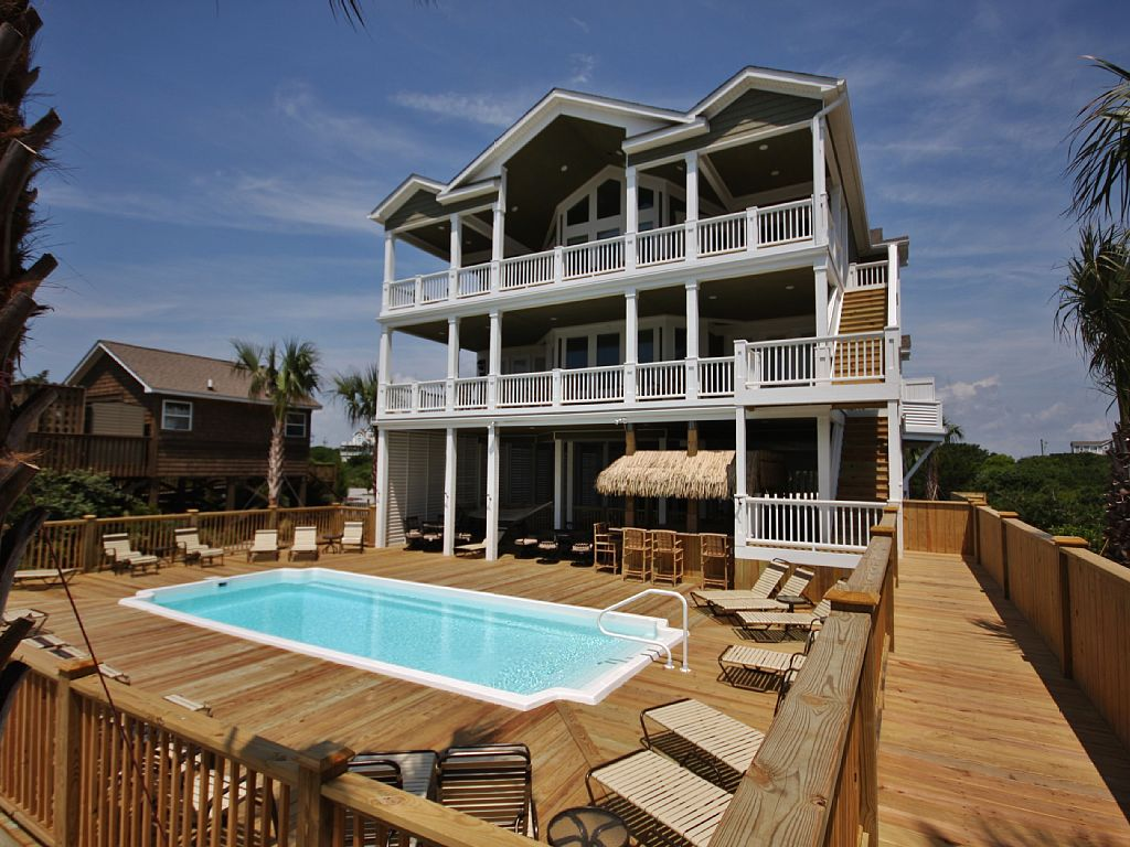 16 Bed Short Term Rental House North Topsail Beach