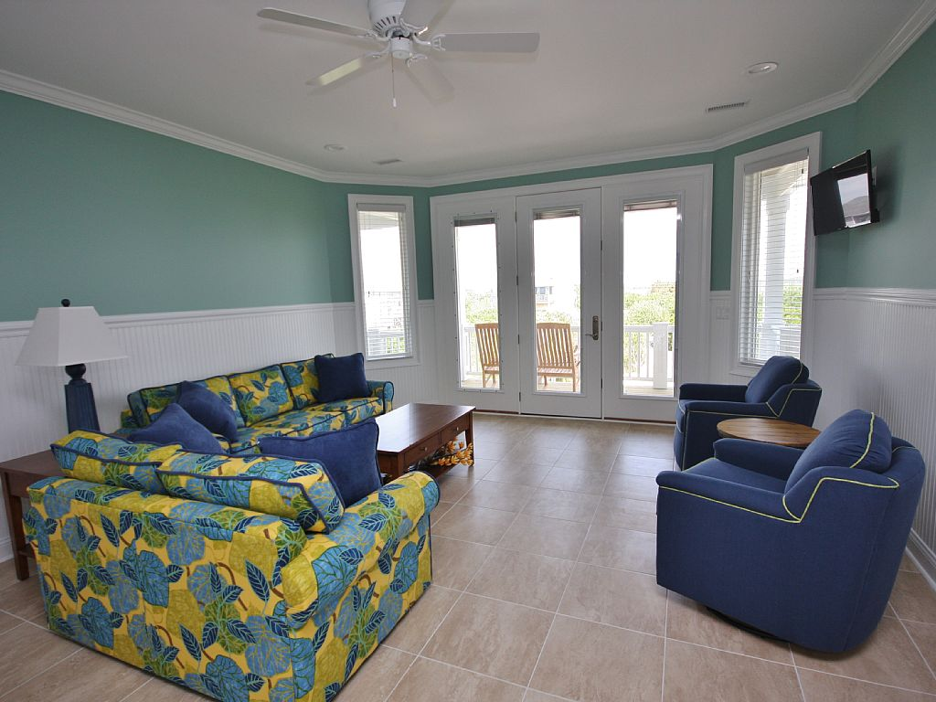 Library North Topsail Beach vacation home
