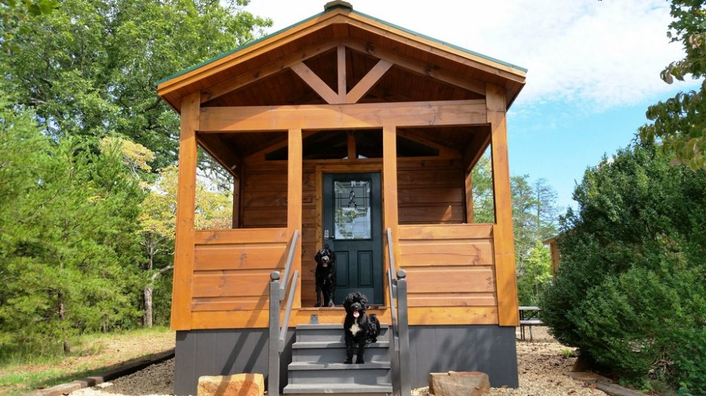 Mill Spring vacation rental with Paradise Cozy Cagins - Dog Friendly