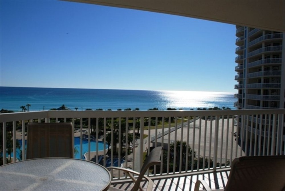 Destin vacation rental with Beach Front Balcony