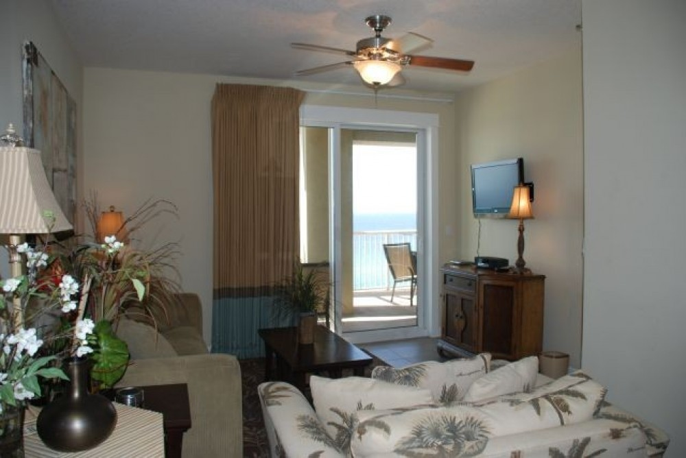 Panama City Beach vacation rental with Living Room with Balcony Access