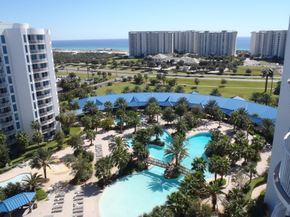 Destin vacation rental with Balcony View From Condo