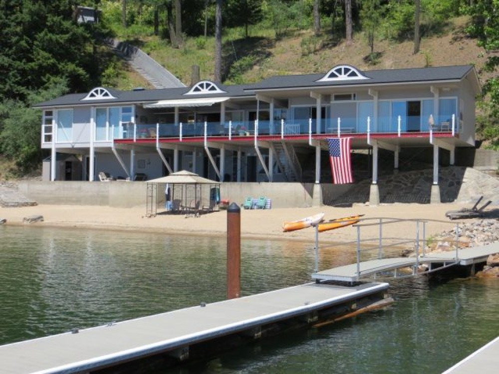 The Beach House at Twin Beaches Lake Coeur D'Alene, Idaho