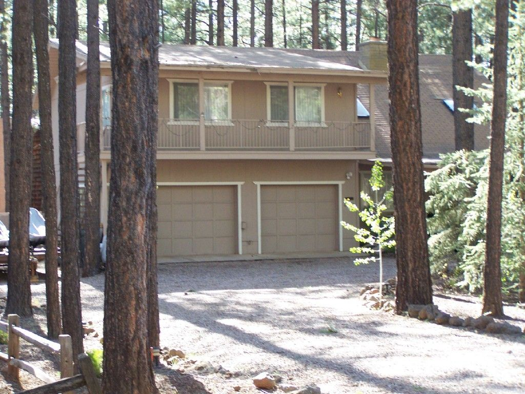 Pinetop Arizona Vacation Rental Large 4 Br Cabin In The