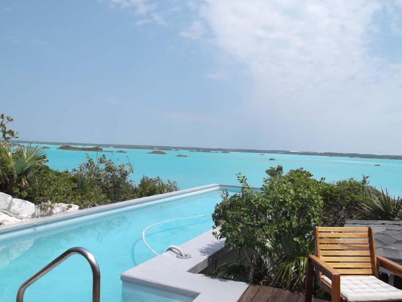Chalk Sound Villa with Amazing Views, Private Cove