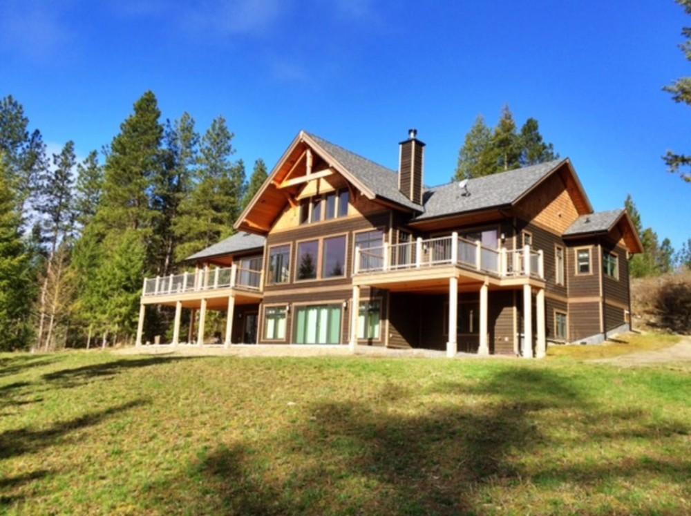 Creston vacation rental with Luxurious Home on 10 Quiet Acres